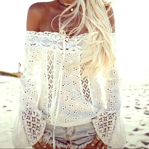 Lace Women's Summer/Spring Top